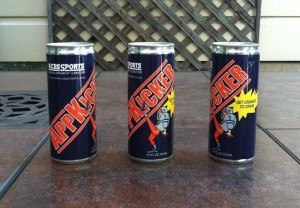 Custom label energy drink.