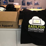 "T-shirts for an upcoming ""Hackathon""."