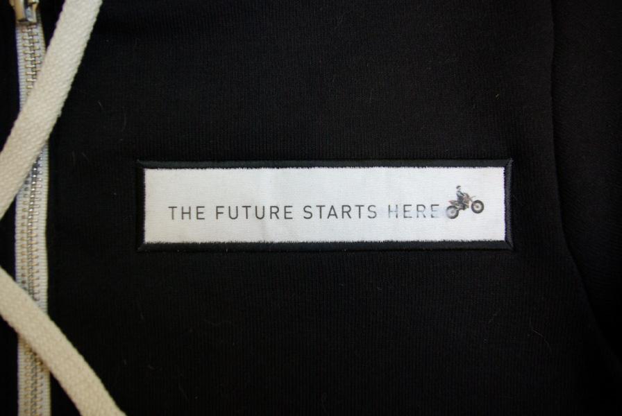 Digitally printed fabric patch